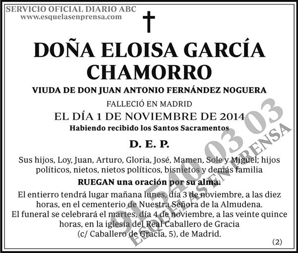 Eloisa García Chamorro